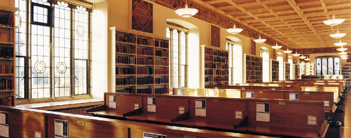 Window film Historic Library, Oxford